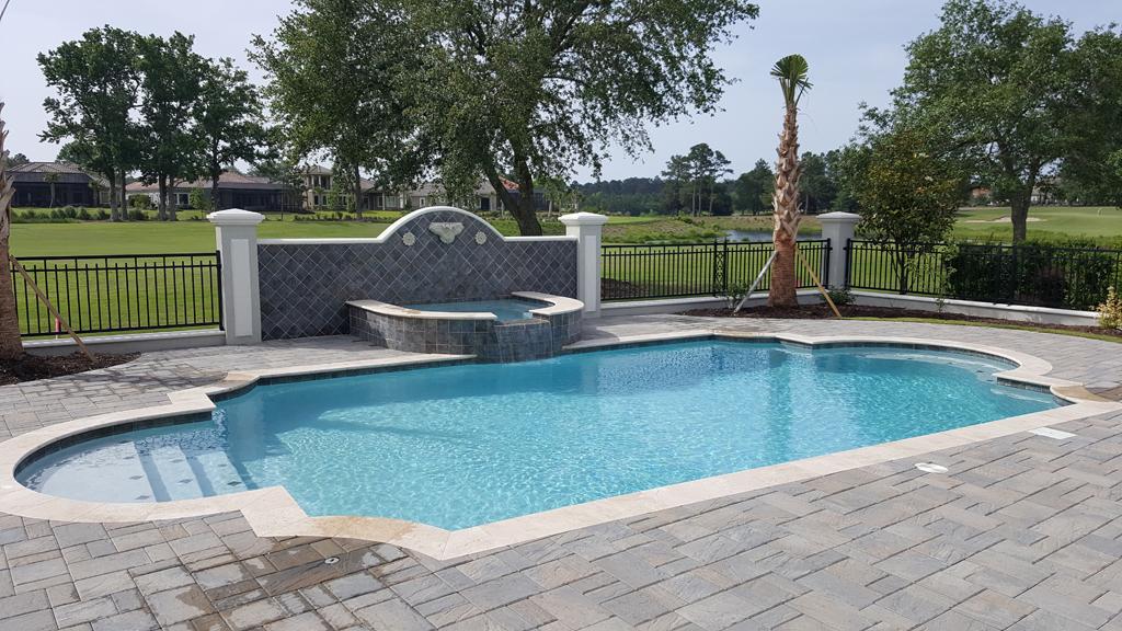 Our Swimming Pool Designs - Myrtle Beach Pools : ACM Pools & Spas
